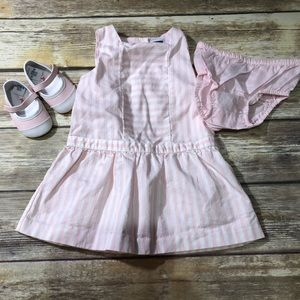 Janie and jack pink outfit
